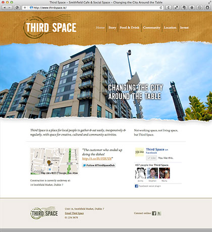 Third Space Website